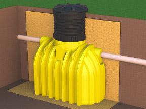 Емкости горизонтальные для подземной установки